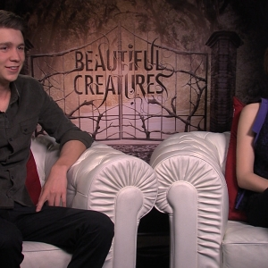 Thomas Mann & Zoey Deutch Talk Beautiful Creatures
