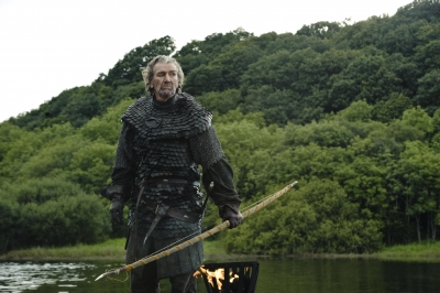 Clive Russell as Brynden 'The Blackfish' Tully in 'Game of Thrones' Season 3