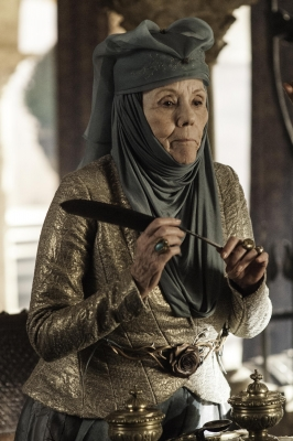 Dianna Rigg as Olenna Tyrell in &#8216;Game of Thrones&#8217; Season 3