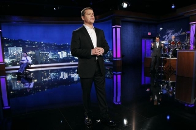 Matt Damon gives an opening monologue on 'Jimmy Kimmel Sucks'
