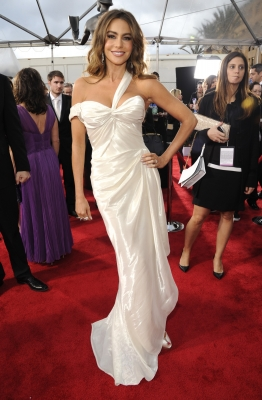 Sofia Vergara attends the 19th Annual Screen Actors Guild Awards at The Shrine Auditorium on January 27, 2013 in Los Angeles, California. (Photo by WireImage)