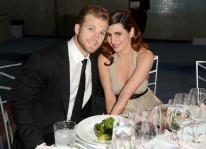 Cutter Dykstra and Jamie-Lynn Sigler attend The Art of Elysium's 6th Annual HEAVEN Gala presented by Audi at 2nd Street Tunnel, Los Angeles, on January 12, 2013