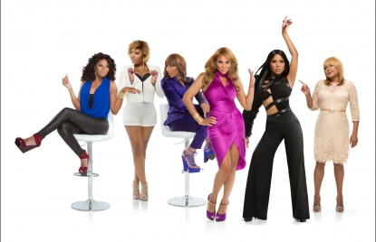The cast of 'Braxton Family Values'
