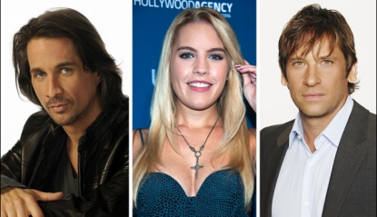 Michael Easton, Kristen Alderson, Roger Howarth