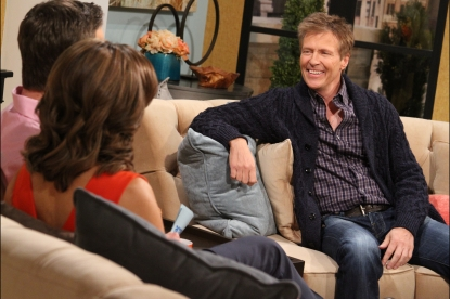 Jack Wagner visits Access Hollywood Live, Burbank, Calif., Feb. 5, 2013