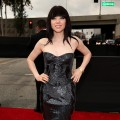 Carly Rae Jepsen arrives at the 55th Annual GRAMMY Awards on February 10, 2013 in Los Angeles