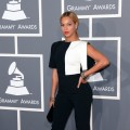 Beyonce arrives at the 55th Annual GRAMMY Awards at Staples Center on February 10, 2013 in Los Angeles