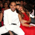 Chris Brown and Rihanna spotted at the 55th Annual Grammy Awards at Staples Center in Los Angeles on February 10, 2013