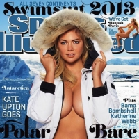Kate Upton on the cover of Sports Illustrated&#8217;s 2013 Swimsuit Issue