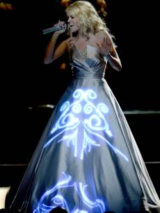 Carrie Underwood performs onstage during the Grammys on February 10, 2013 in Los Angeles