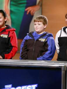 "loser'The Biggest Loser''Work Together' episode, Lindsay Bravo, Noah ""Biingo"" Gray, Sanjana ""Sunny"" Chandrasekar"