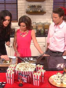 Katie Lee Joel's Oscar part foods on Access Hollywood Live