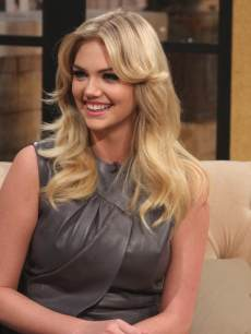 Kate Upton visits Access Hollywood Live on February 20, 2013