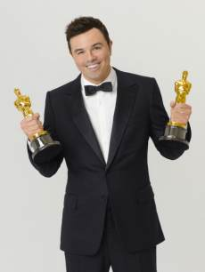 Seth MacFarlane seen in a promo photo for The 85th Annual Academy Awards