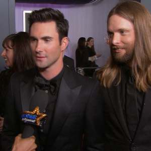 Grammy Awards 2013: Adam Levine Dishes On Working Usher &amp; Shakira On The Voice