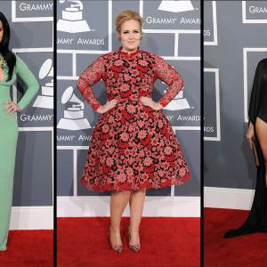 Grammys 2013: Best Dressed Stars Of The Night, Part I
