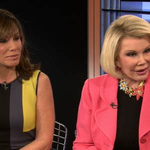 Joan & Melissa Rivers Discuss The Challenges Of Living Together