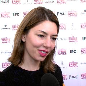 Sofia Coppola 'Cheering' For Brother Roman Coppola At The 2013 Independent Spirit Awards