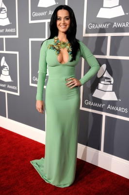 Katy Perry steps out at the 55th Annual GRAMMY Awards at STAPLES Center on February 10, 2013 in Los Angeles