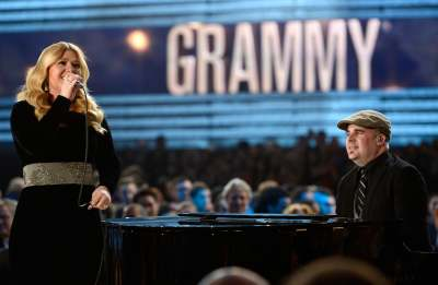 Kelly Clarkson performs onstage at the 55th Annual Grammy Awards at Staples Center in Los Angeles on February 10, 2013