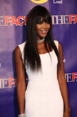 Naomi Campbell attends 'The Face' premiere party and Upfront 2013 in New York City, Feb. 5, 2013