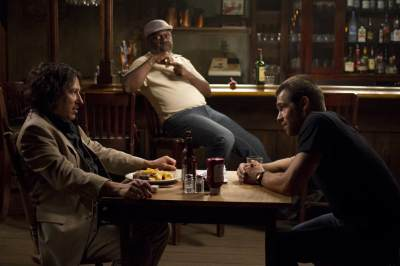 Michael Kostroff, Frankie Faison and Antony Starr in Cinemax's 'Banshee,' Episode 6, 'Wicks'