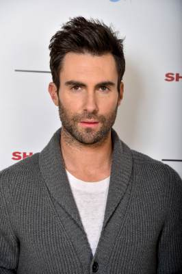 Adam Levine Launches Signature Fragrances In Canada Exclusively For Shoppers Drug Mart at Soho Metropolitan Hotel, Toronto, on February 18, 2013