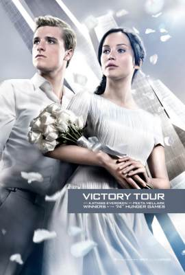 A poster from &#8216;Catching Fire&#8217;