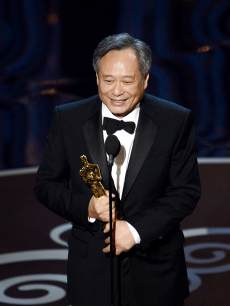 Ang Lee accepts the Best Director award for 'Life of Pi' onstage during the Oscars held at the Dolby Theatre in Hollywood on February 24, 2013