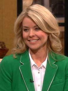 Kristina Wagner visits Access Hollywood Live, February 27, 2013