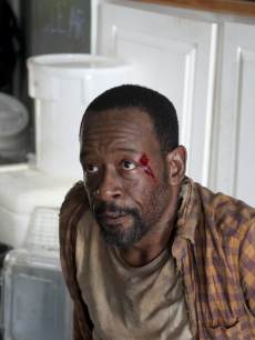 Lennie James as Morgan on 'The Walking Dead'