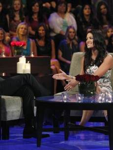 Chris Harrison interviews Tierra on 'The Bachelor: The Women Tell All'