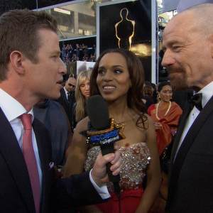 Oscars 2013: Kerry Washington &amp; Bryan Cranston&#8217;s &#8216;Crazy&#8217; Independent Spirit Award Moment