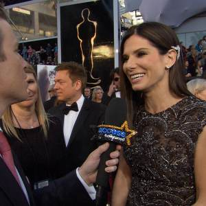 Oscars 2013: Sandra Bullock 'Very Proud' Of Ben Affleck & George Clooney