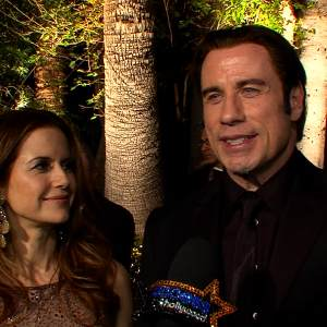 Vanity Fair Oscar Party: John Travolta & Kelly Preston Share Their Favorite 2013 Oscar Moments