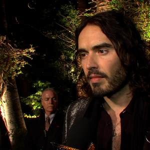 Vanity Fair Oscar Party: Russell Brand On Seth MacFarlane As Oscar Host - 'He Did A Wonderful Job!'