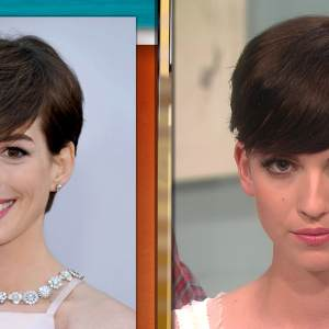 Oscars 2013: Get Anne Hathaway&#8217;s Glamorous Red Carpet Hair &amp; Makeup!