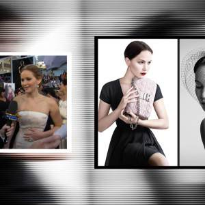 Jennifer Lawrence Reacts To Her Miss Dior Handbag Campaign Photos