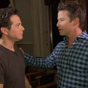 TNT's 'Perception' - On Set With Scott Wolf & Eric McCormack