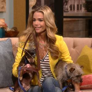 Denise Richards Celebrates 2-Year Anniversary Of Access Hollywood Live's Pet Adoption Series