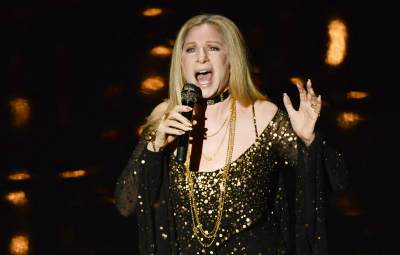 Barbra Streisand performs onstage during the Oscars held at the Dolby Theatre in Hollywood on February 24, 2013 