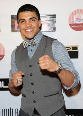 Victor Ortiz attends the 'Vishwaroopam' premiere held at the Pacific Theaters at the Grove on January 24, 2013 in Los Angeles