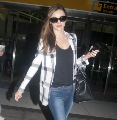 Miranda Kerr is spotted on February 25, 2012 in New York City