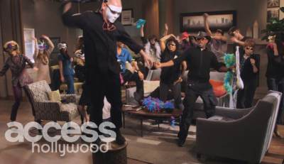 The cast of 'All My Children' do the Harlem Shake on February 25, 2013