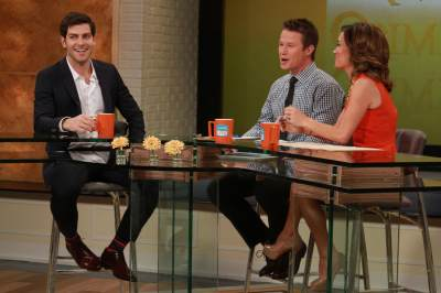 'Grimm' star David Giuntoli stops by Access Hollywood Live on March 4, 2013