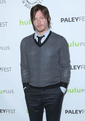 Norman Reedus hits the red carpet at PaleyFest 2013 and its 'The Walking Dead' event, at the Saban Theatre, Los Angeles, March 1, 2013