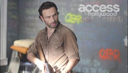 Andrew Lincoln as Rick Grimes in AMC's 'The Walking Dead,' Season 3, Episode 12, 'Clear'