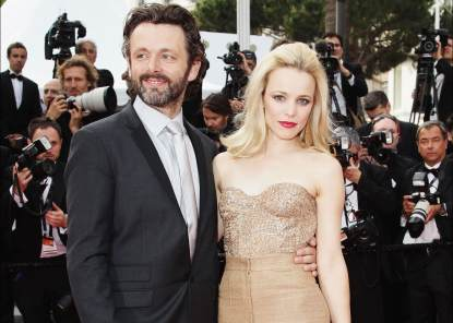 Rachel McAdams and Michael Sheen arrive at the 'Sleeping Beauty' premiere during the 64th Annual Cannes Film Festival at the Palais des Festivals on May 12, 2011 in Cannes, France