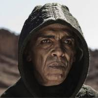 Mohamen Mehdi Ouazanni as Satan on the History Channel miniseries 'The Bible'