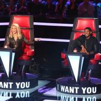 Shakira and Usher on 'The Voice'